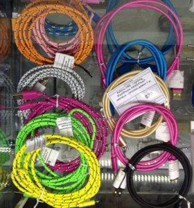 USB кабели для iPhone и Samsung