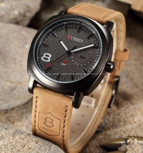 Крутые Часы Curren 1839