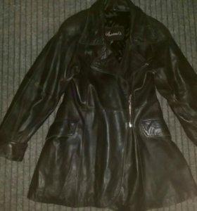 Куртка кожаная натуральная кожа утеплённая