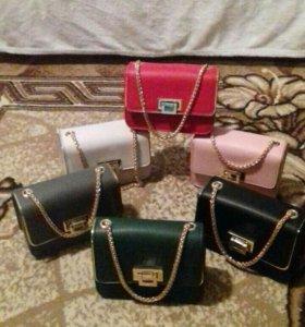 Миниатюрные сумочки новые