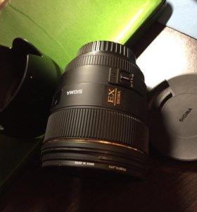 Sigma 85 mm f/1.4 для canon
