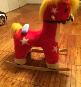 Детская-качалка лошадка