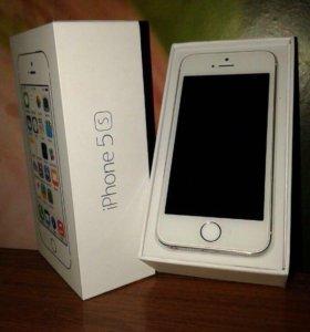 Телефон айфон 5 S Gold 64 г.