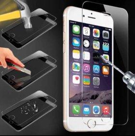 Защитные стекла на Iphone 5s/SE/6s/7/8 samsung 6s