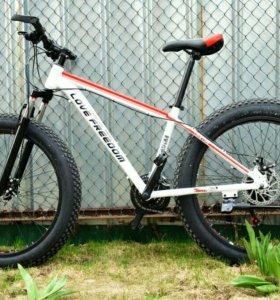 Фэтбайк FATBIKE велосипед 26*4 дюйма 24 скорости н
