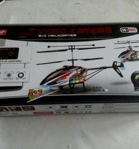Вертолет с камерой Новый