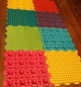 Ортопедические коврики набор 12 штук+ подарок;)