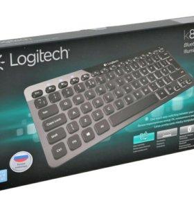 Logitech Illuminated Keyboard K810 Black Bluetooth