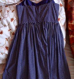 Платье 8 размер, хлопок