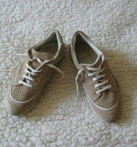 Ботинки Bata flexible 38 бежевые