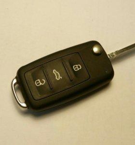 Новый оригинальный ключ для Фольксваген Volkswagen