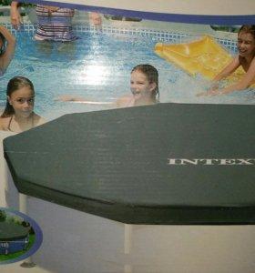Покрытие, крышка для бассейна Intex