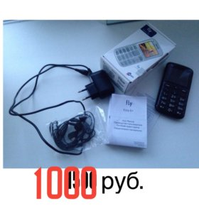 Телефон Fly ezzy 6+