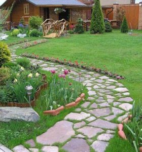 Благоустройство садового участка