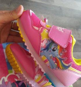 Кроссовки my Little pony(Новые)