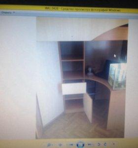 Кровать стол шкаф тумба полки , детская зона