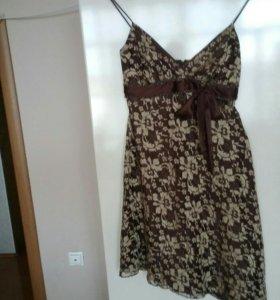 Платье из гепюра Италия