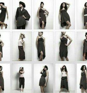 Платье эмами