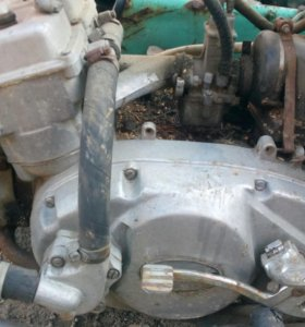 Двигатель иж юпитер 6 с водяным охлаждением.
