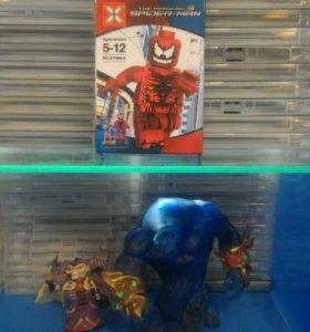 Лего кровавый человек паук