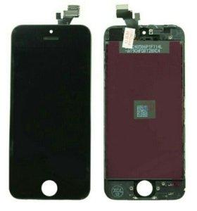 Модуль на iphone 5 черный качество AAA