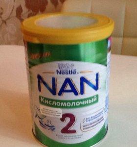 Смесь Нан 2 и каша рисовая