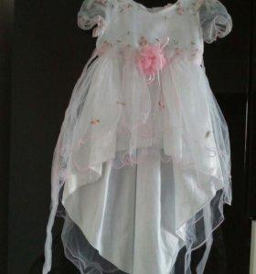 Нарядное платье 1.5-3 года