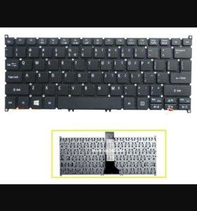 Клавиатура на Acer.