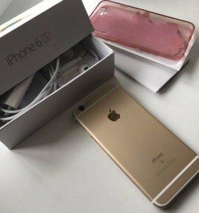 iPhone 6s 16gb gold идеал