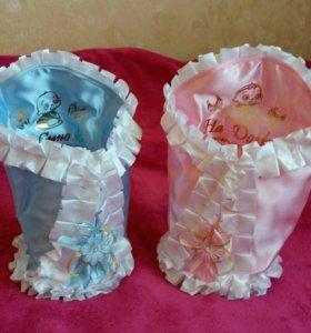 Свадебные мелочи сунжучок и мешочки