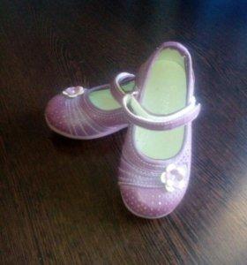туфли детские для девочки.