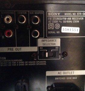 Ресивер для домашнего кинотеатра Sony STR DB870