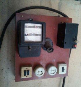Электрощиток в гараж.