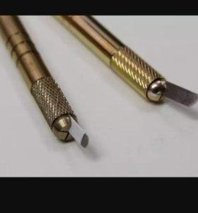 Иглы и ручки для микроблейдинга