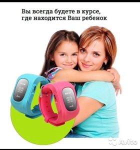 Детские GPS часы со встроенным телефоном
