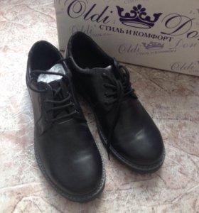 Туфли (новые) нат. кожа