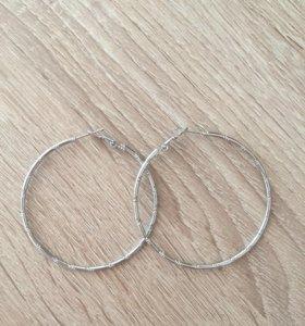 Сережки кольца