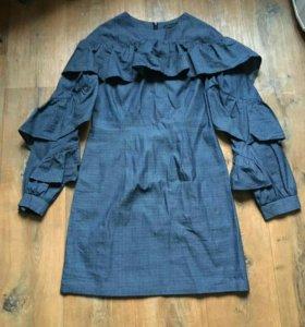 Джинсовое платье (тонкое)