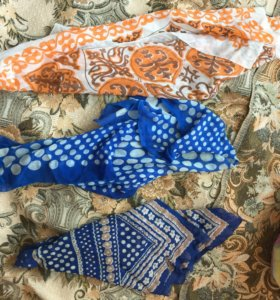 Платок шарф шифон детское