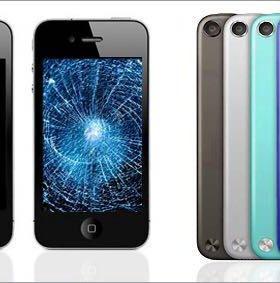 Ремонт, замена экрана на iPhone-4s,5,5s,6/6+ 6s/7