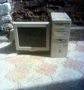 Монитор системный блок