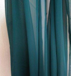 Тонкий шифоновый шарфик, платок