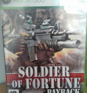 Soldier of fortune xbox360