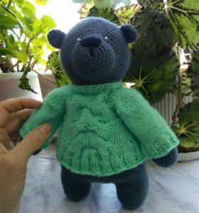 Вязаные игрушки Медведь