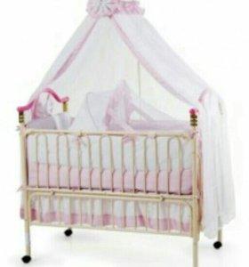 "Кроватка детская ""Geoby 05TLY632"""