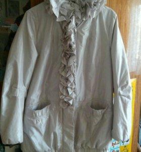 Куртка в отличном состоянии 50-52