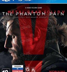 Игра для PS4 Metal Gear Solid V: The Phantom Pain