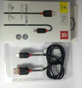 Кабель USB iPhone 5 Baseus