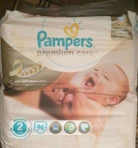 Подгузники Pampers Premium Care 2 (3-6 кг)