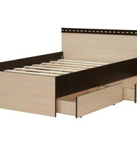 Кровать двухспальная. С ящиками или без.